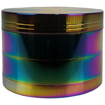 Sharpstone Style - 60mm 4 Part Rainbow Grinder - Display of 6 (MSRP $25.00ea)