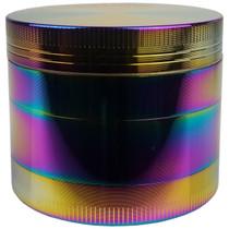 Sharpstone Style - 55mm 4 Part Rainbow Grinder - Display of 6 (MSRP $25.00ea)