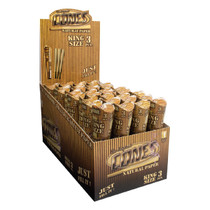 CONES® - Unbleached Pre-Rolled Cone King Size (3ct) - Display of 32 (MSRP $1.50ea))