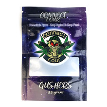 Small 3.5g  Flower Mylar Bag - 50 Pack (MSRP $1.00ea)