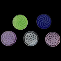 40mm Assorted Cyclone Carb Cap Coin - 5 Pack (MSRP $10.00ea)