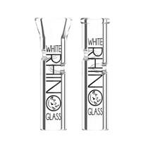 White Rhino - XL Glass Tips - 80ct Jar (MSRP $3.99ea)