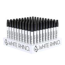 "White Rhino - 5"" Ceramic Nectar Straw - Display of 100 (MSRP $15.99ea)"