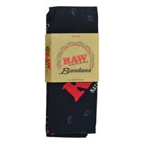 RAW® - Black Bandana (MSRP $12.00)