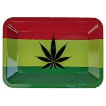 "Metal Design Rolling Tray - Small 7""x5"" (MSRP $10.00)"