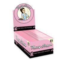 Blazy Susan® - Pink 1¼ Rolling Papers (50ct)- Display of 50 (MSRP $2.00ea)