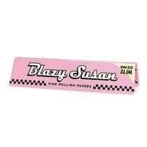 Blazy Susan® - Pink King Size Slim Rolling Papers (50ct) - Display of 50 (MSRP $2.50ea)