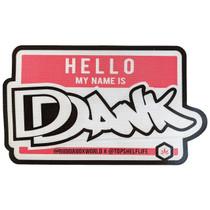 "Fiber Mat - 12"" x 7"" - My Name is DANK (MSRP $20.00)"