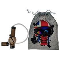 Ski Skull Gas Mask Bag Set (MSRP $75.00)