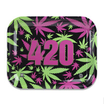 V Syndicate - Metal Rolling Tray - Small - All Styles (MSRP $15.00)