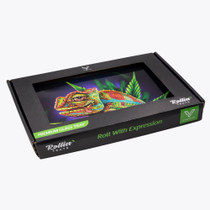 V Syndicate - Glass Rolling Tray - Small - All Styles (MSRP $19.99)