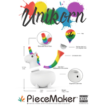 UniKorn - Silicone Water Pipe By The PieceMaker *Drop Ship* (MSRP $49.99)