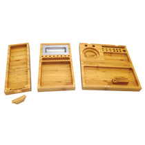RAW® - Bamboo Rolling Tray - Triple Flip (MSRP $120.00)