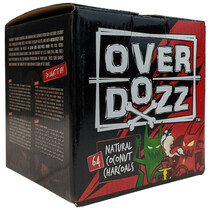 OVERDOZZ - Cube Coconut Charcoals - 64 pcs (MSRP $20.00)