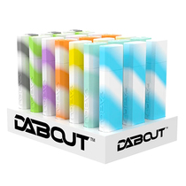 Dab Out Glow In The Dark Silicone Storage - Display of 21 (MSRP $25.00)