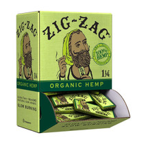 Zig Zag - Organic Hemp Rolling Papers 1¼ (50ct) - Display Of 48 (MSRP $1.50ea)