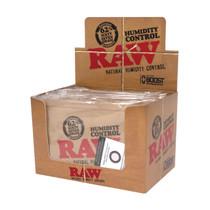 RAW® - Humidity Control 62% Humidiccant 67gm - Display of 12 (MSRP $5.00ea)