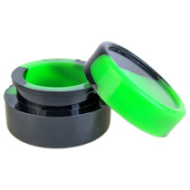 Mixed Color Jar Silicone Storage Container 32mm - 5 Pack (MSRP $2.00ea)