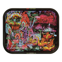 RAW® - Metal Rolling Tray Series 2 Ghost Shrimp - Large (MSRP $15.00)