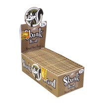 Skunk Brand - Rolling papers 1 1/2 (33ct) - Display of 25 (MSRP $2.00ea)