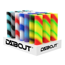 Dab Out Silicone Storage - Display of 21 (MSRP $19.99ea)