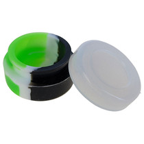 Silicone Container 32mm - Clear Top JAR - 5 Pack (MSRP $2.00ea)