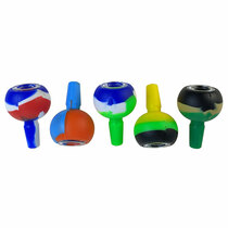 14M Silicone Mixed Color Bowl - 5 Pack (MSRP $6.00ea)