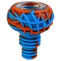 Silicone Mixed Color Ribbed Bowl 14M - 5 Pack (MSRP $10.00ea)
