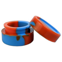 Silicone Container 32mm - Solid Jar - 5 Pack (MSRP $3.00 ea)