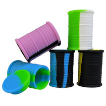 """2"""" Silicone Container - Oil Barrel - 5 Pack (MSRP $7.00ea)"""