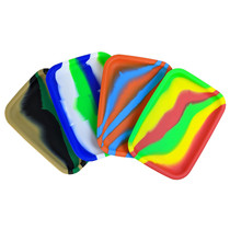 """8"""" Silicone Mixed Color Rounded Mat - SINGLE (MSRP $10.00)"""