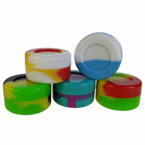 Silicone Container 32mm - JAR - 5 Pack (MSRP $2.00ea)