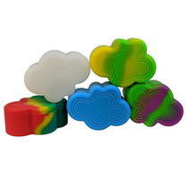 Silicone Assorted Color Container 63mm 26ml - CLOUD - Single (MSRP $6.00)