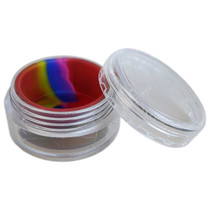Silicone Container 30mm - Plastic Slim Jar - 5 Pack (MSRP $2.00ea)