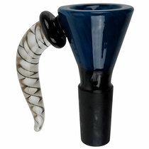 14M Black Tube Horn Bowl - Single Assorted (MSRP $25.00)