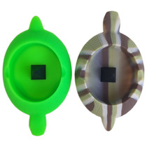 "6"" Silicone Turtle Ashtray with Bowl Poker - Single (MSRP $15.00)"