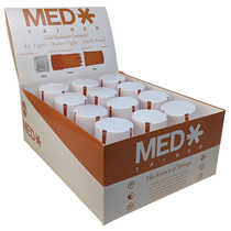Medtainers - Child Resistant Collection - 12 Pack (MSRP $20.00ea)