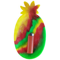 "8.5"" Silicone Tray - Pineapple - Single Assorted (MSRP $15.00)"