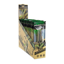 King Palm - King Size Pre-Roll Cones - Pack of 2 - Display of 20  (MSRP $6.99ea)