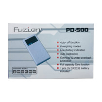 Fuzion - PD-500 Scale - 500g x 0.1g (MSRP $10.00)