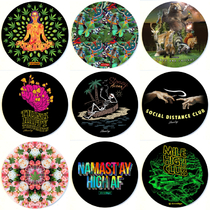 "8"" Round Dab Mat By StonerDays (Series 1) *Drop Ship* (MSRP $11.99)"