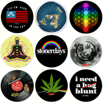 "8"" Round Dab Mat By StonerDays (Series 2) *Drop Ship* (MSRP $11.99)"