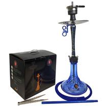 "Amy Deluxe - 25"" Hookah - Radiant - Blue (MSRP $170.00)"