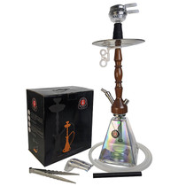 "Amy Deluxe - 24"" Hookah - Woodini Clear (MSRP $220.00)"