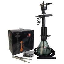 "Amy Deluxe - 21"" Hookah - Little Rocket - Black (MSRP $220.00)"