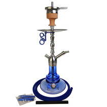 "Amy Deluxe - 19"" Hookah - Little Lulu - Blue (MSRP $200.00)"