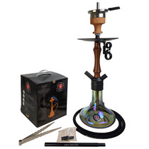"Amy Deluxe - 20"" Hookah - Mini Jungle - Black (MSRP $140.00)"