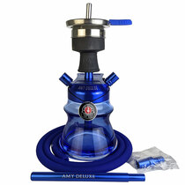 "Amy Deluxe - 9"" Alu Sphere Hookah - with Travel Bag (MSRP $120.00)"