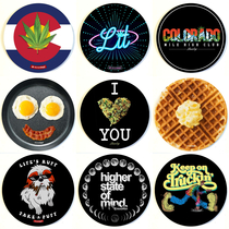 "8"" Round Dab Mat By StonerDays (Series 3) *Drop Ship* (MSRP $11.99)"