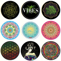 "8"" Round Dab Mat By StonerDays (Series 4) *Drop Ship* (MSRP $11.99)"